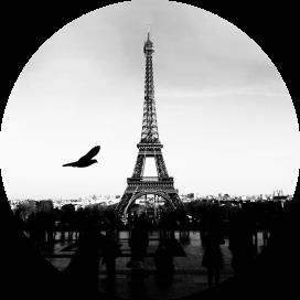 Poster Adesivo Paris
