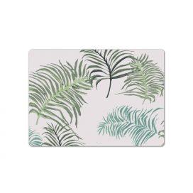 Kit de Jogo Americano Folhagem palmeira – Linha Brasileirinhos
