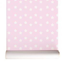 Estrelado rosa