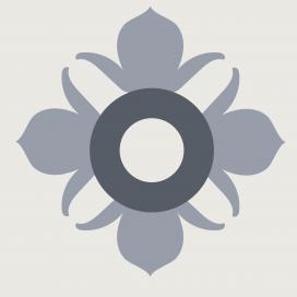 Adesivo Hidráulico Flor