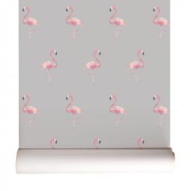 Flamingos Cinza – Linha Flamingos