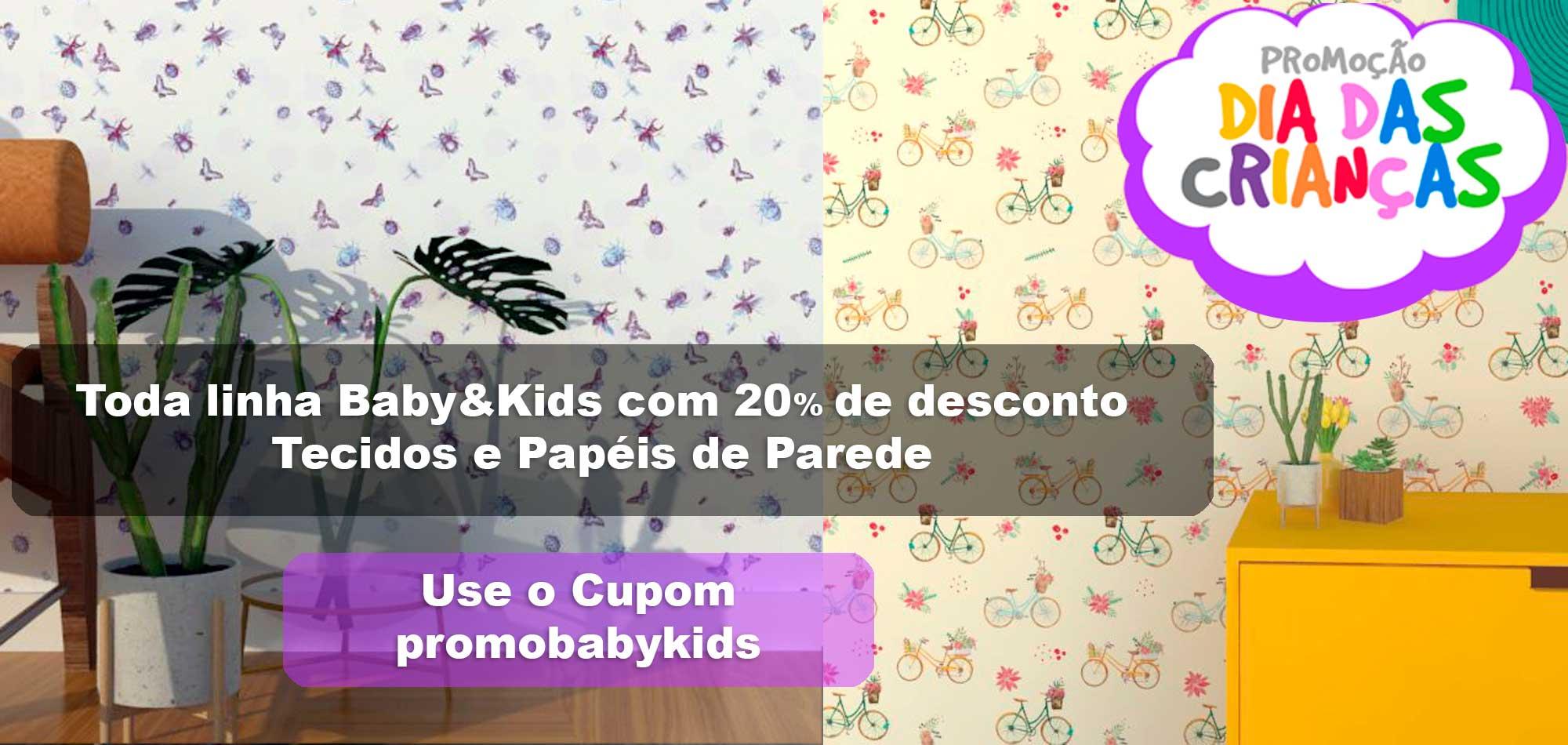 Promoção dia das Crianças - Baby&Kids